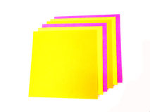 Colorful post it note Royalty Free Stock Images
