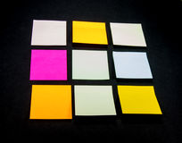 Colorful Post it Notes Royalty Free Stock Images