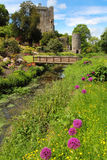 Colorful postcard of Blarney castle Royalty Free Stock Images
