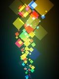 Colorful_poster Photo libre de droits