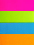 Colorful of postit Stock Photo