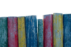Colorful Posts Stock Images