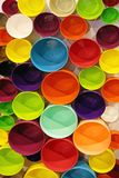 Colorful Pots Royalty Free Stock Photo