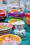 Colorful pottery Stock Photos