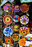 Colorful Pottery, Mexico Royalty Free Stock Image