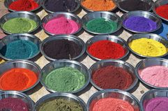 Colorful Powder Royalty Free Stock Photos