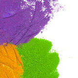 Colorful Powder Color Royalty Free Stock Photos