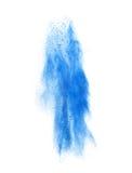 Colorful powder splash on white background Stock Photo