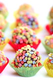 Colorful pralines Royalty Free Stock Photography