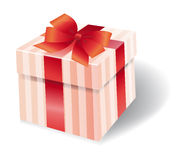 Colorful present box Stock Photo