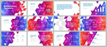Colorful presentation templates elements. Vector infographics. Eps 10. vector illustration