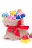 Colorful presents Stock Photos