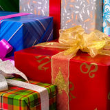 Colorful presents Stock Photo