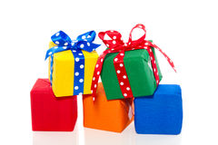 Colorful Presents And Gifts Stock Photos