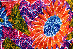 Colorful  prints cloth Stock Images