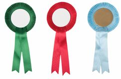 Colorful prizes Royalty Free Stock Photography
