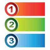 Colorful process char Stock Photos