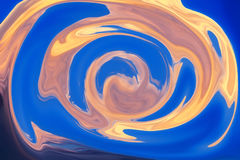 Colorful psychedelic liquefied background Stock Image