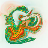 Colorful psychedelic liquefied background Stock Photo