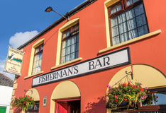Colorful Pub in Portmagee stock photo