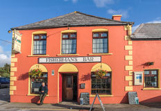 Colorful Pub in Portmagee Stock Photography