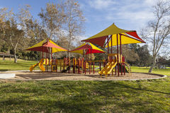 Colorful Public Park Playground Stock Photos