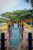 Colorful public playground Stock Photo