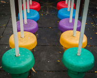 Colorful public playground Stock Photography