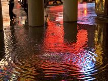 Colorful Puddle Stock Photos