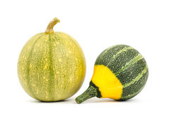Colorful pumpkins Royalty Free Stock Photo