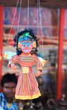 Colorful Puppets on Stall in Ladakh. Stock Photography