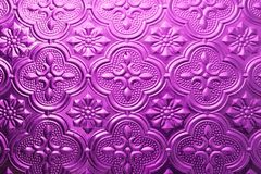 Colorful purple seamless texture. Glass background. Interior wall decoration 3D wall pattern abstract floral glass. Colorful seamless texture. Vintage Glass stock image