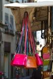 Colorful purses Stock Image