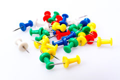 Colorful Pushpin II Royalty Free Stock Photo