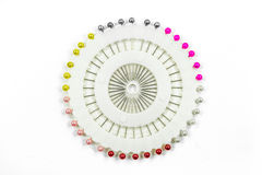 Colorful pushpin Stock Photo