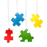 Colorful Puzzle Piece Royalty Free Stock Photo