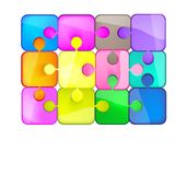 Colorful puzzles Royalty Free Stock Photos
