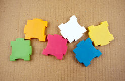 Colorful puzzles. Royalty Free Stock Image
