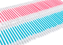 Colorful Q-tips Royalty Free Stock Photo
