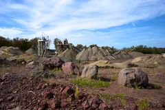 Colorful Quarry Stock Images