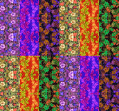 Colorful quilt design Royalty Free Stock Photography