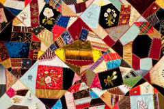 Colorful quilt pattern Royalty Free Stock Photos