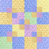 Colorful quilting design Royalty Free Stock Image