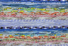 Colorful raided rag Stock Photo