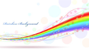 Colorful rainbow Royalty Free Stock Photography