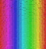 Colorful rainbow abstract background, 3d block style. Colorful rainbow abstract background RGB Color 8bit, 3d block style Royalty Free Stock Photography