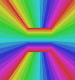 Colorful rainbow abstract background. RGB Color 8bit Stock Photo