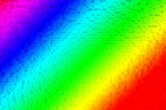 Colorful rainbow abstract 3d. Colorful rainbow abstract background RGB Color 8bit, 3d block style Stock Photos