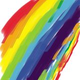 Colorful Rainbow background Stock Photos
