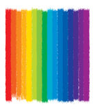 Colorful rainbow background, vector. Colorful rainbow background illustration, grunge painted design, vector Stock Photography
